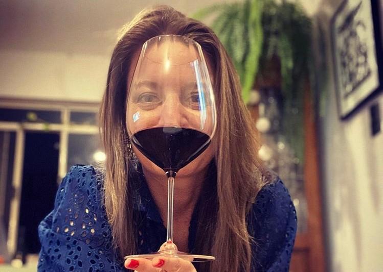 Paixão por vinho!